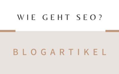 SEO für Blogartikel