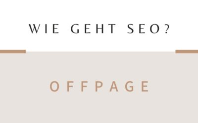 SEO Offpage Optimierung