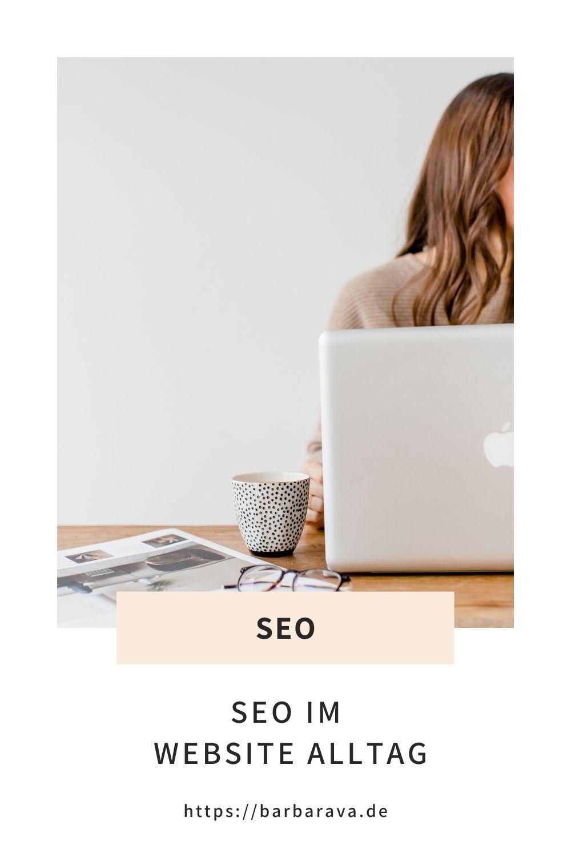 SEO im Website Alltag